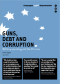 rapport 'Guns, Debt and Corruption: Military spending and the EU crisis'